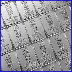 100x 1g Cook Islands CombiCoin Silberbarren Münztafel Tafelbarren von Valcambi