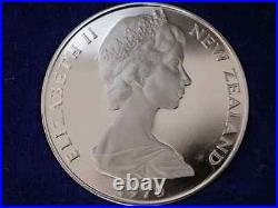 1970 Cook Islands One Dollar Coin Silver Proof New Zealand Rare H74