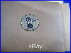 1974 COOK ISLANDS Silver Gilt Proof Fifty Dollars Coin Sir Winston Churchill