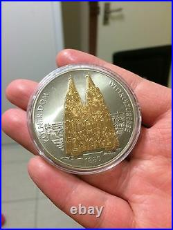 19pc cook island and nauru wonders silver coins1pc free kolner dom big medal