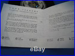 2000 $10 COOK ISLANDS PLANETARY ALIGNMENT 5 MAY 10oz Silver Coloured Coin