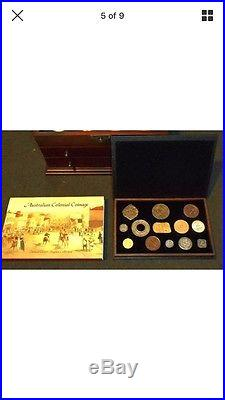 2005 06 cook islands 12pc australia historical stones coinage silver coin set