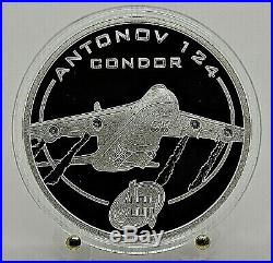 2008 Cook Islands Antonov Family 5 coins X 1 Oz Silver Proof Complete Set
