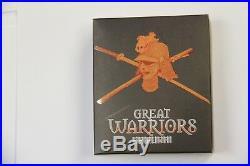 2010 Great Warriors Samurai 1oz Silver Proof Coin