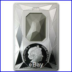 2011 Cook Islands Proof Silver $20 Luxury Line Swarovski Crystal SKU #73020