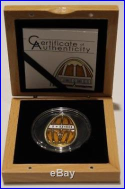 2013 Limited Edition $5 Cook Islands Imperial Eggs Silver Coin