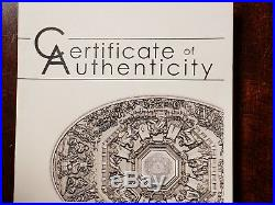 2014 Cook Islands Ceilings of Heaven Florence Cathedral The Last Judgement Coin