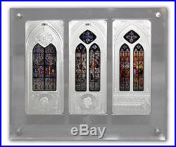 2014 Cook Islands Cologne Cathedral Window Giants Set of Silver Coins Proof