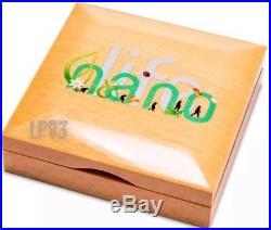 2015 50 Grams PROOF Silver 10$ NANO LIFE NANO CHIP Coin