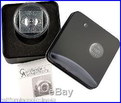 2015 Cook Islands SPACE TIME CONTINUUM 2 Dollar 1/2 oz. 999 Silver Proof Coin