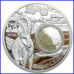 2015 Cook Islands Silver $5 Great Deserts Judea, Israel PF70 UC NGC Coin