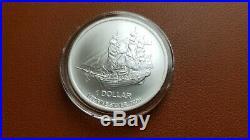 2016 COOK ISLANDS BOUNTY SHIP COIN $1 Elizabeth II 1OZ SILVER SUPER RARE CAPSULE