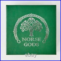 2016 Cook Islands Norse Gods 5oz Silver Coin 25 Dollar withBox & COA $25.999