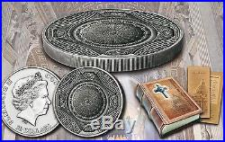 2016 ST PETERS BASILICA 4 Layer. 999 Silver Coin 20$ Cook Islands IN HAND