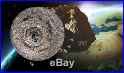 2016 Tamdakht Meteorite Strike $2 1/2oz Silver Coin Cook Islands