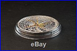 2016 WASP SPIDER Magnificent Life Series Silver Coin 5$ Cook Islands