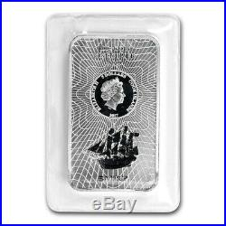 2017 100 Gram Silver Cook Islands Bounty Coin Bar (. 9999 Fine) Sunshine Minting