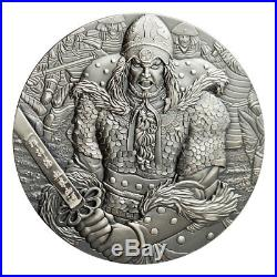 2017 Cook Is Yi Soon Shin 2 oz Silver Antiqued $10 Coin with Comic Book SKU52850