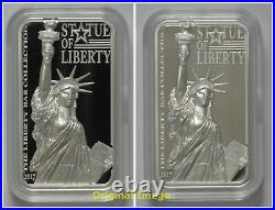 2017 Cook Islands $10 Statue of Liberty 2oz Silver Proof Coin