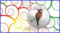 2017 Cook Islands Silver $2 Quilling Art Bird PF70 UC ER NGC Coin #001