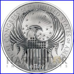 2017 Fantastic Beasts Magical Congress 1 Oz. Silver Coin Harry Potter Macusa