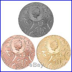 2017 Scarab Selection 3x 1oz Silver Coin Set Cook Islands