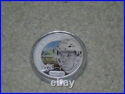 2017 UD Grandeur Connor McDavid 1oz Silver Coin 2547/5000