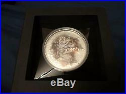 2018 $25 Cook Islands 7 Summits Aconcagua 5oz. 999 Silver Coin