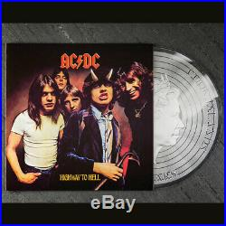 2018 Cook Islands 1/2 Ounce AC/DC Highway to Hell Colored. 999 Silver Foil Coin