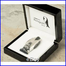 2018 Cook Islands 88 Gram Emperor Penguin 3D Shaped Silver Coin