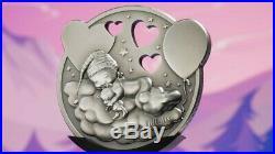 2019 1 Oz Silver $5 Cook Island LITTLE PRINCESS Dreaming Girl Coin