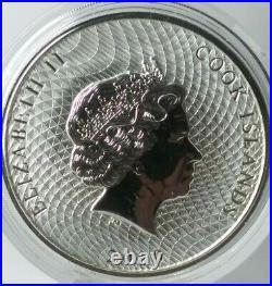 2020 2 Oz Silver Cook Islands Bounty Coin Ships free in capsule