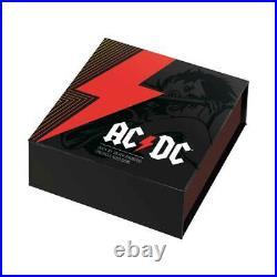 AC/DC 2021 Australia 1oz Silver Frosted BU Coin