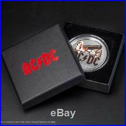 AC/DC FOR THOSE ABOUT TO ROCK 2019 Cook Islands 1/2oz proof silver coin