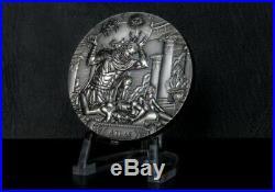 ATLAS Titans God series 3 Oz Silver Coin 20$ Cook Islands 2019