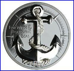 Anchor, Cook Islands, 10 Dollars, 2019, 2 oz. Silver Coin