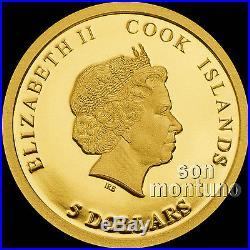 BREXIT 3 COIN SET SILVER & GOLD PROOF JUNE 23 2016 Cook Islands $1 $5 $20