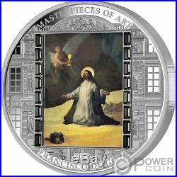 CHRIST IN GETHSEMANE Masterpieces Art 3 Oz Silver Coin 20$ Cook Islands 2020