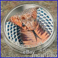 COBRA Magnificent Life Series 1 oz Silver Proof Coin 2017 COOK ISLANDS $5