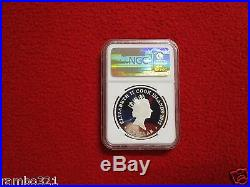 COOK ISLANDS DIAMOND JUBILEE GOLD CUP ASCOT $1 NGC PF69 Silver Coin Bullion