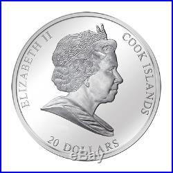 Cook 2010 Masterpieces Of Art Vitruvian Man Leonardo Da Vinci Gold Silver Coin 2