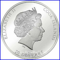 Cook 2017 20$ Masterpieces of Art Easter Edition Christ Jerusalem Silver Coin 29