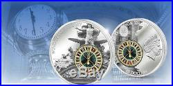 Cook Island 2013 10$ Windows of History GRAND CENTRAL TERMINAL 50g Silver Coin