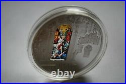 Cook Islands 10 Dollars 2013 Windows of Heaven Milan Cathedral Silver 50g Coin