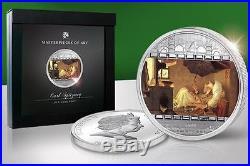 Cook Islands 2009 20$ Masterpieces of Art SPITZWEG POOR POET 3 Oz Silver Coin