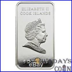 Cook Islands 2009 $5 Ferrari The Legend Car 25g Proof Silver Coin