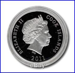 Cook Islands 2011 10$ Giant Kamakura Buddha 1Oz Silver Coin