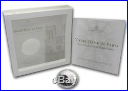 Cook Islands 2011 10$ Windows Of Heaven Notre Dame Paris Silver Proof Coin 2