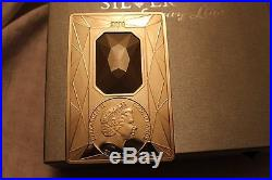 Cook Islands 2011 20$ Silver Luxury Line 100 g Proof Silver Coin
