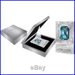 Cook Islands 2011 20$ Silver Luxury Line 100 g Proof Silver Coin with Swarovski